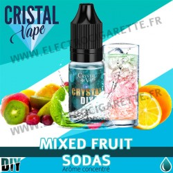 Mixed Fruit Sodas - Arôme concentré - Cristal Vapes - 10ml - DiY