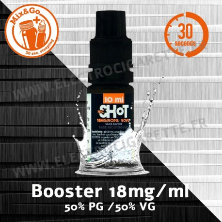 Booster NicShot - Mix&Go - Chewnovatic - 10 ml