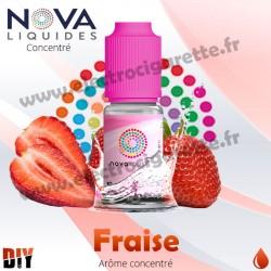 Fraise - Arôme concentré - Nova - 10ml - DiY
