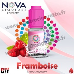 Framboise - Arôme concentré - Nova - 10ml - DiY