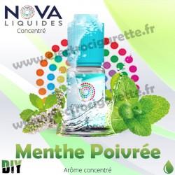 Menthe Poivrée - Arôme concentré - Nova - 10ml - DiY