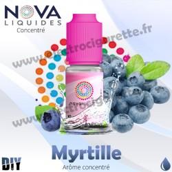 Myrtille - Arôme concentré - Nova - 10ml - DiY
