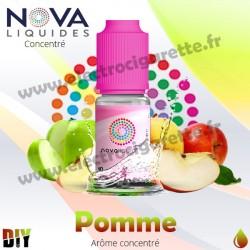 Pomme - Arôme concentré - Nova - 10ml - DiY