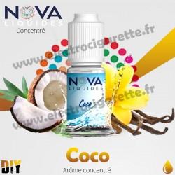 Coco - Arôme concentré - Nova Original - 10ml - DiY
