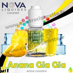 Ananas Gla Gla - Arôme concentré - Nova Premium - 10ml - DiY
