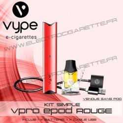 Batterie ePod Rouge avec 1 x cable USB - Vype