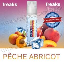 Pêche Abricot - Freezy Freaks - ZHC 50ml - Sans sucralose