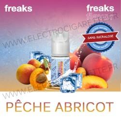 Pêche Abricot - Freezy Freaks - 30 ml - Arôme concentré DiY - Sans sucralose