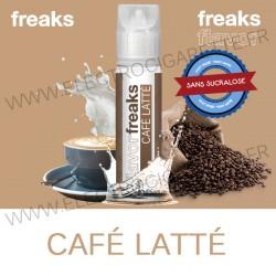 Café Latté - Freaks - ZHC 50ml - Sans sucralose