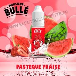Pastèque Fraise - Monsieur Bulle - Liquideo - 10 ml