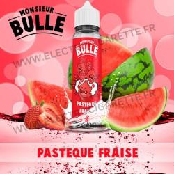 Pastèque Fraise - Monsieur Bulle - Liquideo - ZHC 60 ml