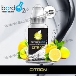 Pack de 5 x Citron - Basic - Bordo2