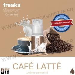 Café Latté - Freaks - 30 ml - Arôme concentré DiY - Sans sucralose