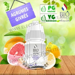 Pack de 5 x Agrumes Givrés - Bio France - 10ml