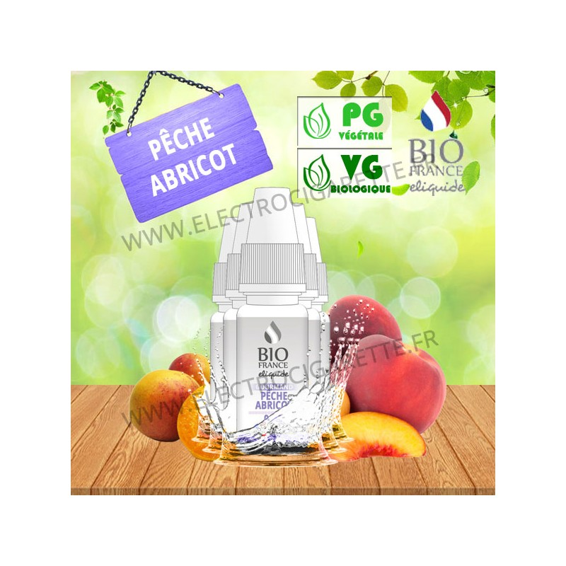 Pack de 5 x Pêche Abricot - Bio France - 10ml