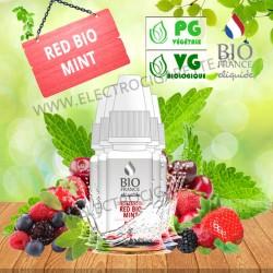 Pack de 5 x Red Bio Mint - Bio France - 10ml