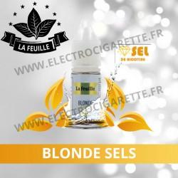 Blonde Sels NicoSoft - La Feuille - 10ml