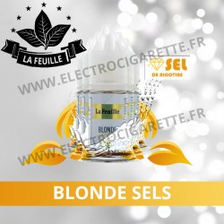 Pack de 5x Blonde Sels NicoSoft - La Feuille - 10ml