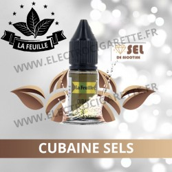 Cubaine Sels NicoSoft - La Feuille - 10ml