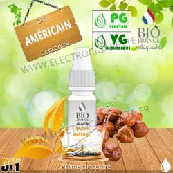 Américain - Bio France - 10 ml - Arôme concentré DiY