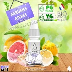 DiY Agrumes Givrés - Bio France - 10 ml - Arôme concentré
