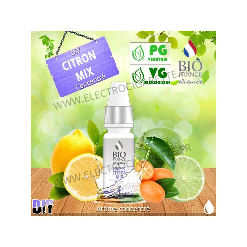 DiY Citron Mix - Bio France - 10 ml - Arôme concentré