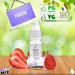 DiY Fraise - Bio France - 10 ml - Arôme concentré