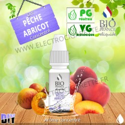DiY Pêche Abricot - Bio France - 10 ml - Arôme concentré