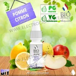 DiY Pomme Citron - Bio France - 10 ml - Arôme concentré