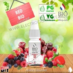 DiY Red Bio - Bio France Intense - 10 ml - Arôme concentré