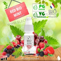 DiY Red Bio Mint - Bio France Intense - 10 ml - Arôme concentré