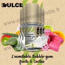 Pack 5 flacons L'inimitable Bubble-Gum Fruits & Cactus - Dulce - DLice - 10 ml