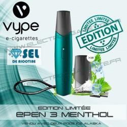 Kit Menthol avec 2 Pod Ice Alaska et 1 x cable USB - Vuse (ex Vype)