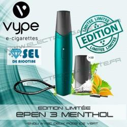 Kit Menthol avec 2 Pod Ice Vert et 1 x cable USB - Vuse (ex Vype)