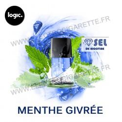 Menthe Givré - Goût Intense - Pack de 2 x Capsules (Pod) - Logic Compact