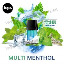 Multi Menthol - Goût Intense - Pack de 3 x Capsules (Pod) - Logic Compact