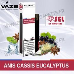 Anis Cassis Eucalyptus - VazeJet - Cigarette électronique