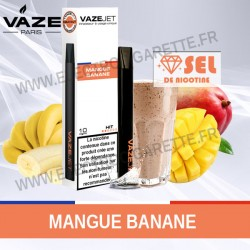 Mangue Banane - VazeJet - Cigarette électronique
