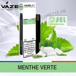 Menthe Verte - VazeJet - Cigarette électronique