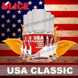 Pack de 5 x flacons Dlice - USA Classic