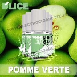 Pack de 5 x flacons Dlice - Pomme Verte
