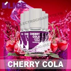 Pack de 5 x flacons Dlice - Cherry Cola