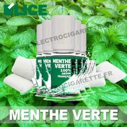 Pack de 5 x flacons Dlice - Menthe Verte