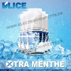 Pack de 5 x flacons Dlice - XTra Menthe