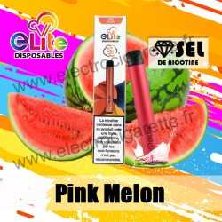 Elite Pod à Usage Unique - Pink Melon Halo - 20mg Sel de Nicotine