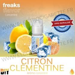 Citron Clémentine - Freezy Freaks - 30 ml - Arôme concentré DiY - Sans sucralose