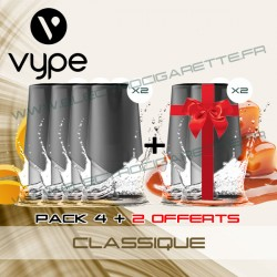 Pack EPEN3 Pod Vype ePen 3 Classique - Vuse (ex Vype) - 4 plus 2 offerts