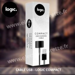 Cordon de charge Usb pour batterie Logic Compact