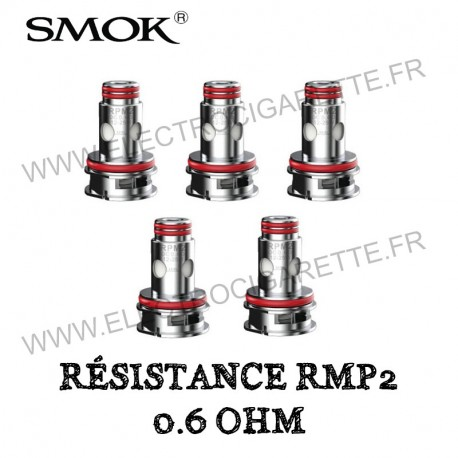 Pack de 5 x Résistances 0.6 Ohm RPM2 - Smok