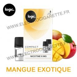 Mangue Exotique - Pack de 2 x Capsules (Pod) - Logic Compact
